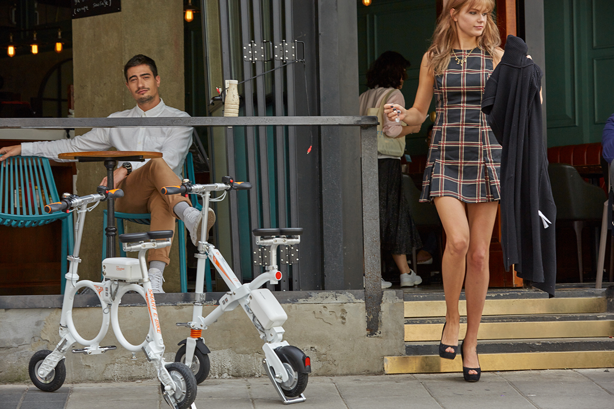 Airwheel E3 mini folding electric bike(1).