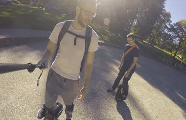 motorized scooter,Airwheel X8,unicycle