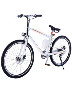 R8 lightweight trekking bike is featured by multiple ride modes,triangle frame and 26 inch large wheels